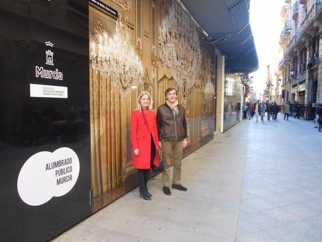 Los interiores de los edificios más emblemáticos de Murcia salen a la calle