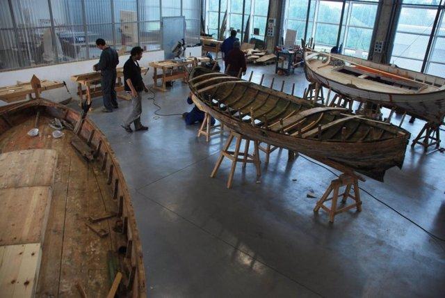 Construcción barca