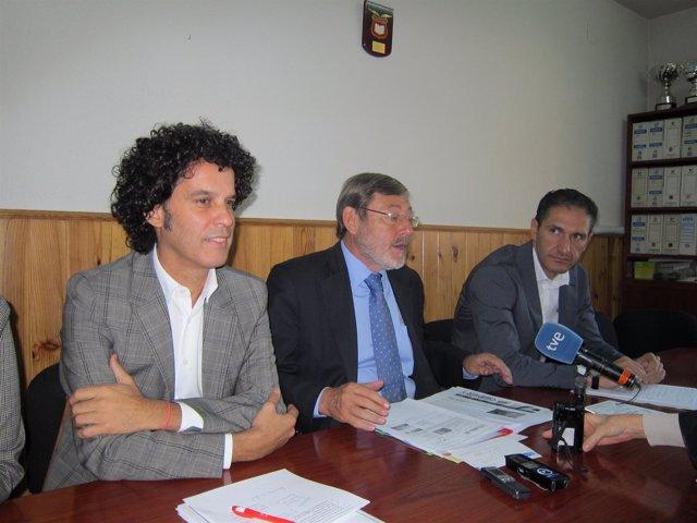 Zerolo, Lissavetzky Y Cepeda En Rueda De Prensa