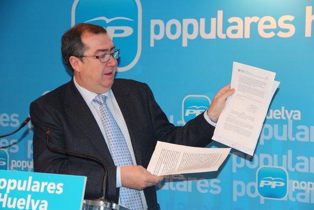 El diputado provincial del PP José Luis Barragán.