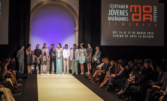 Final del V Concurso de Jóvenes Diseñadores