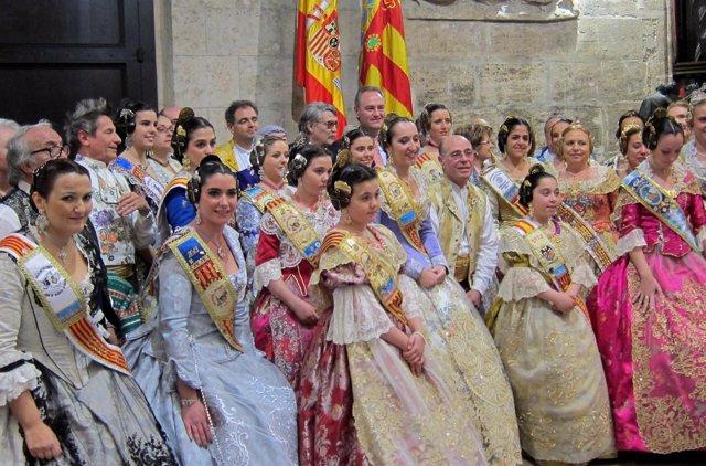 Fabra con valencianos residentes en el exterior