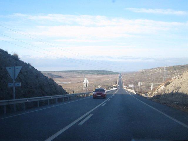 Carretera, tráfico, coches, carretera nacional, operación salida, atascos