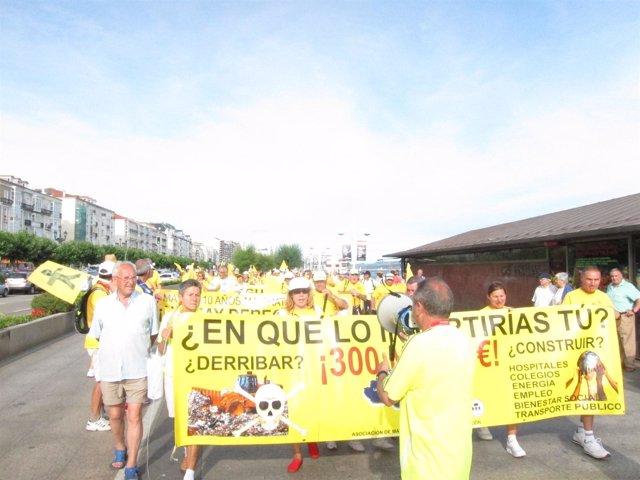 Imagen de archivo de una protesta de AMA