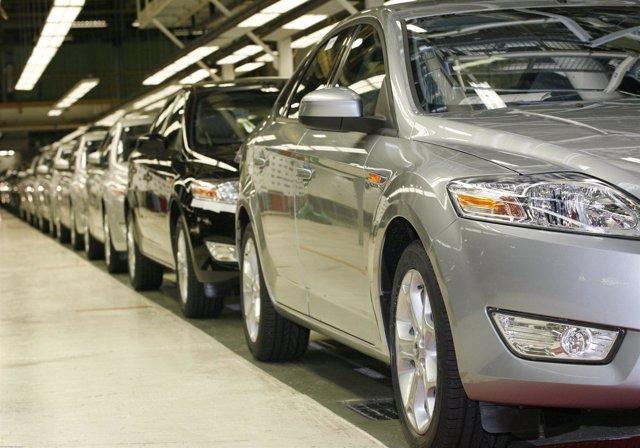 Fabricación del Ford Mondeo en Genk (Bélgica)