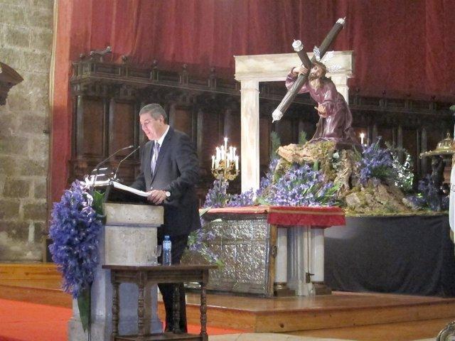 De los Mozos pronuncia el pregón en la Catedral