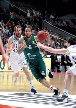 Marcus Williams, ante el Real Madrid