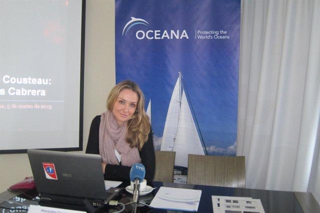 La nieta de Jacques Cousteau, Alexandra Cousteau