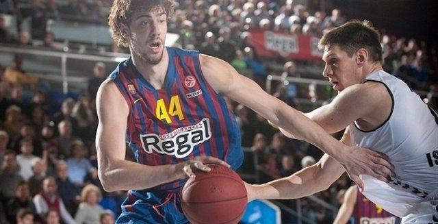 Ante Tomic en la victoria ante el Besiktas