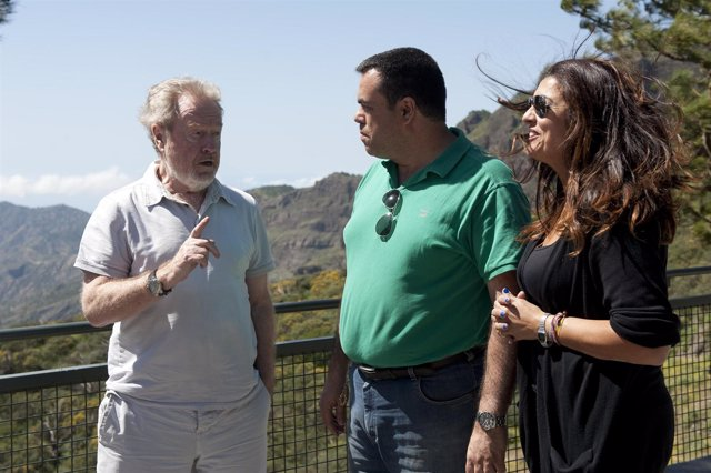 Ridley Scott visita Gran Canaria
