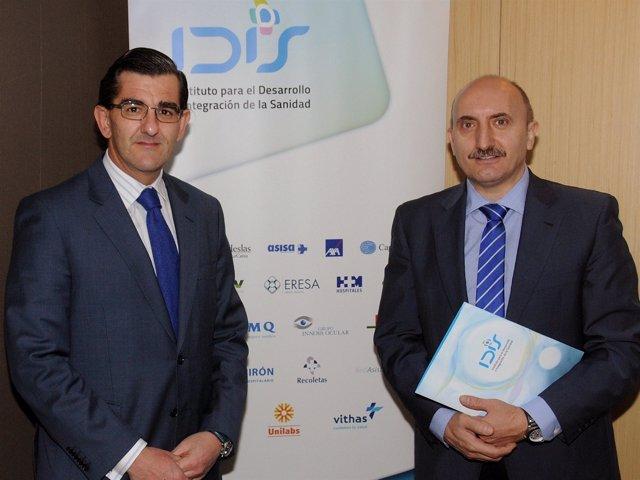Juan Abarca presenta el informe de IDIS 'Análisis de situación 2013'