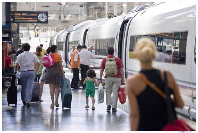 Transporte En Tren, Renfe