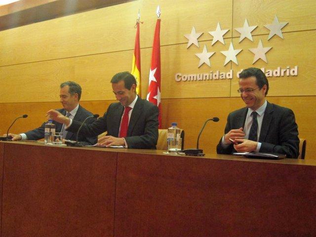 Ossorio, Victoria y Lasquetty en la rueda tras el Consejo de Gobierno