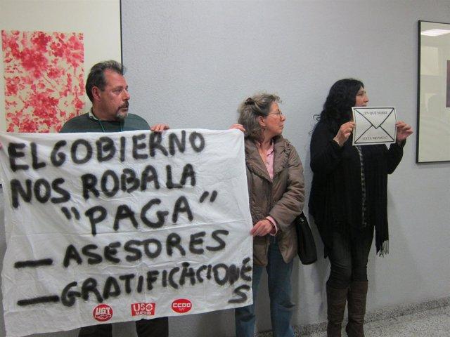 Protestas en el Consejo Interterritorial del Sistema Nacional de Salud