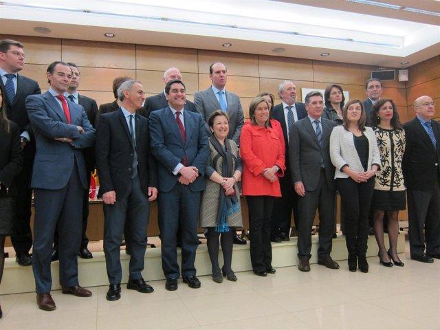 Consejo Interterritorial de SNS de Marzo- Foto de grup