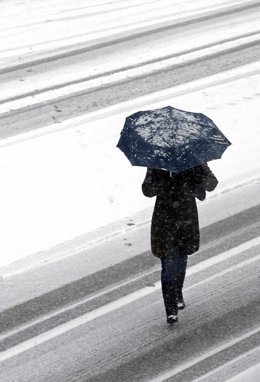 Nieve en Madrid