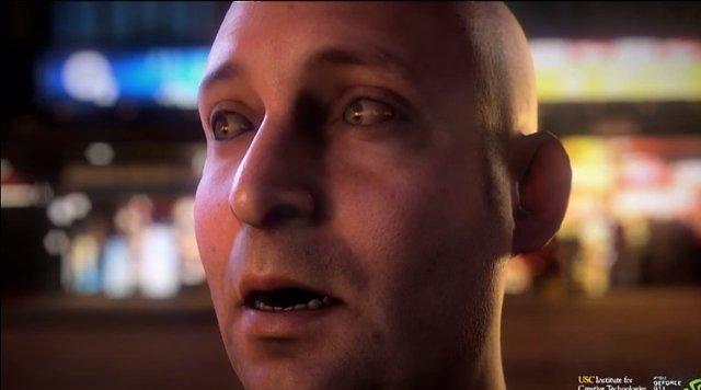 Tecnología Face Work de animación facial de Nvidia