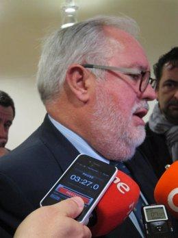 Ministro de Agricultura, Alimentación y Medio Ambiente, Miguel Arias Cañete