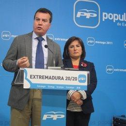 Miguel Cantero, PP Extremadura