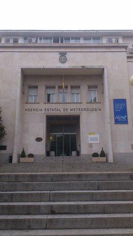 Sede central de la Agencia Estatal de Meteorología, en Madrid