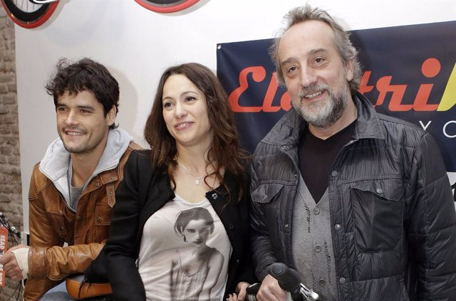 Miguel Abellán, Natalia Verbeke y Gonzalo Miró