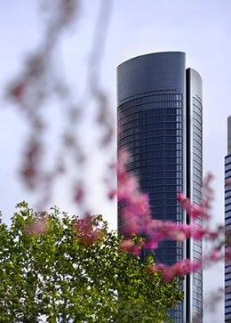 Torre de Sacyr en el Norte de Madrid