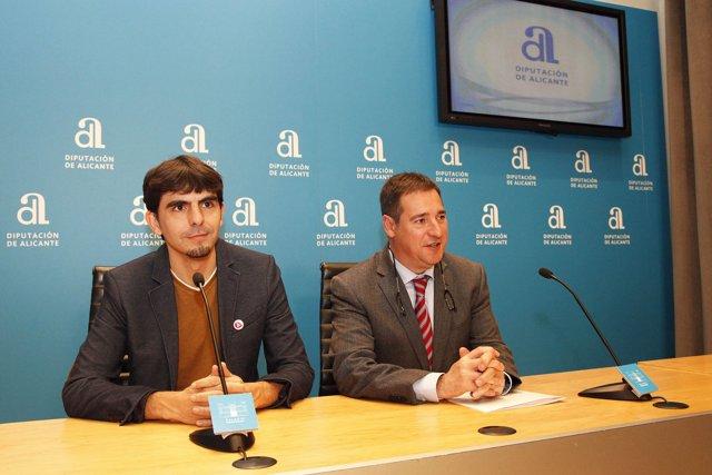 Joanjo García y Juan Bautista Roselló