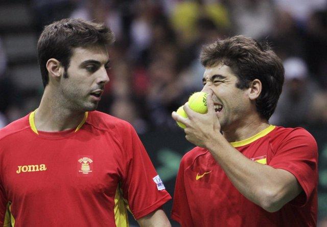 Marc López y Marcel Granollers se quedan sin final en dobles