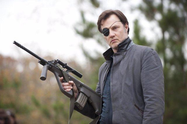 El Gobernador se queda en 'The Walking Dead'