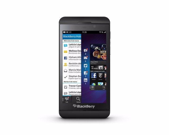El smartphone BlackBerry Z10 llega a España www.Portaltic.Es