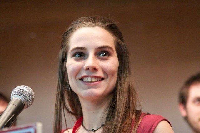 Ana García, nueva secretaria general de las Juventudes Comunistas de España