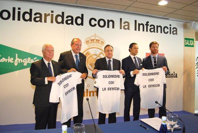 Solidaridad con la Infancia con el Real Madrid, El Corte Inglés y Cruz Roja