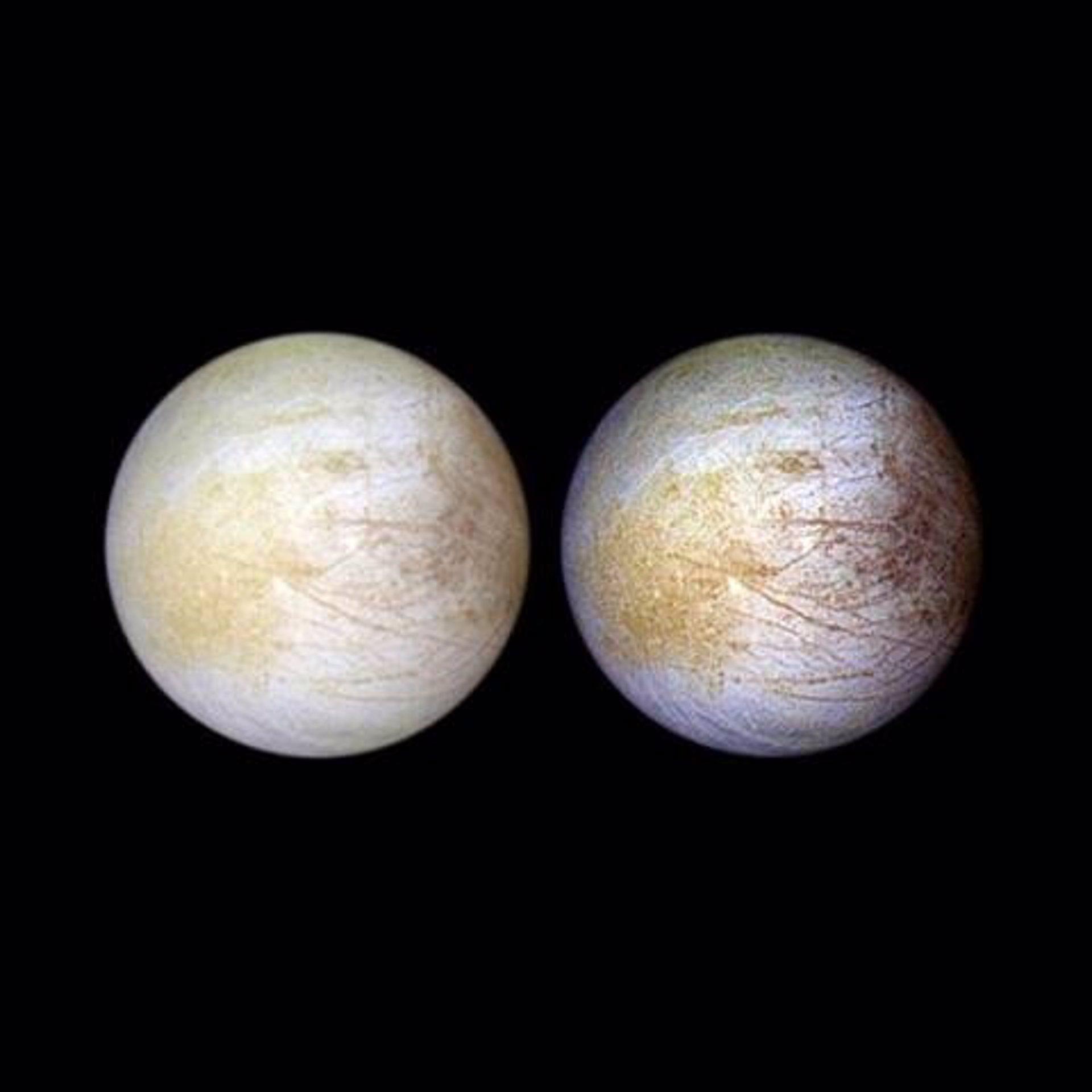Científicos creen que podría haber vida en los océanos de la luna Europa