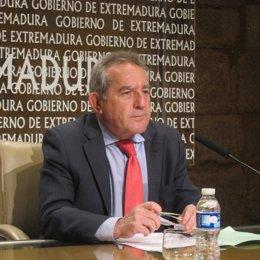 Consejero De Economía Y Hacienda Del Gobierno De Extremadura, Antonio Fernández