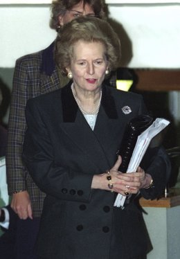 Margaret Thatcher, ex primer ministro británico