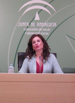 La consejera de Salud y Bienestar Social, María Jesús Montero