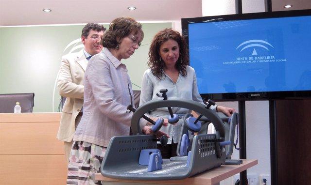 María Jesús Montero, durante la explicación del dispositivo