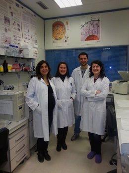 Imagen de algunos de los expertos del CIBERobn que han participado en el estudio
