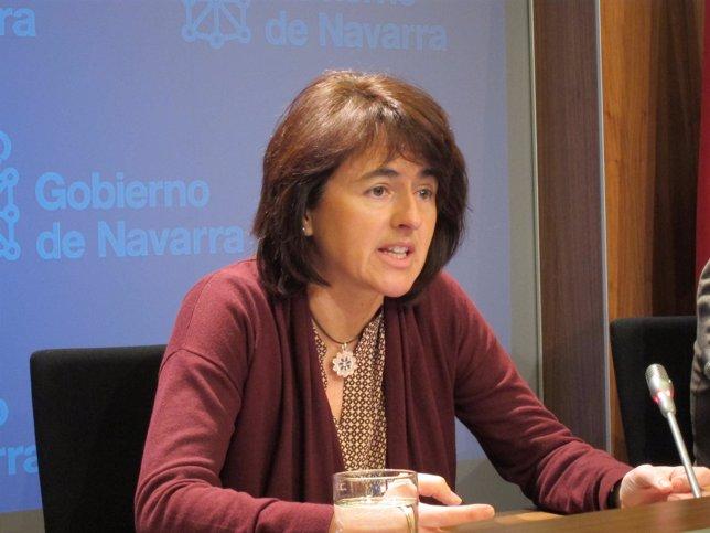 La consejera de Salud del Gobierno de Navarra, Marta Vera.