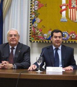 Jorge Hernández Mollar y Juan Manuel Moreno Bonilla