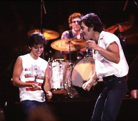 Courteney Cox y Bruce Springsteen