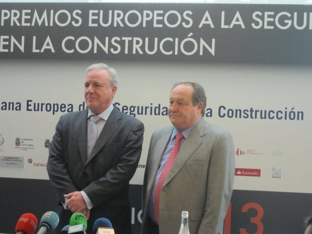 Lazcano y Cobo en rueda de prensa