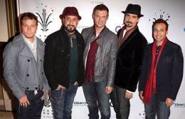 Backstreet Boys en un evento en 2012