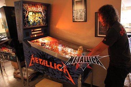 Metallica ya tienen su propio pinball