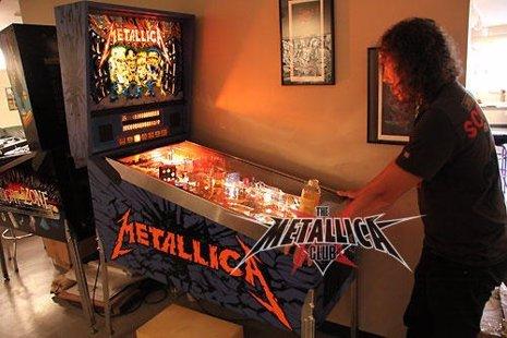 El pinball de Metallica