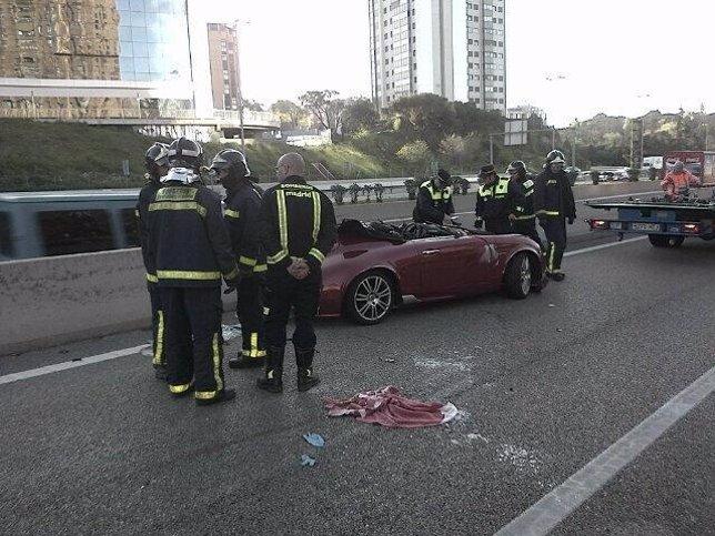 Imagen de la colisión