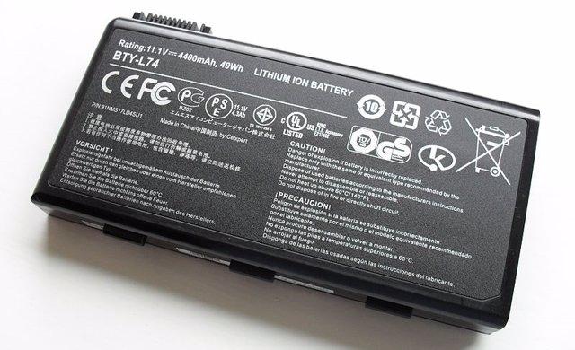 Bateria litio ion