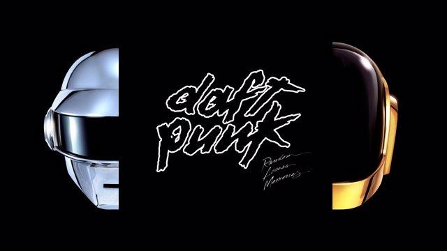Daft Punk afiche de su nuevo álbum