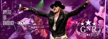 El sueño de todo fan de Guns n' Roses: Axl Rose en 3D