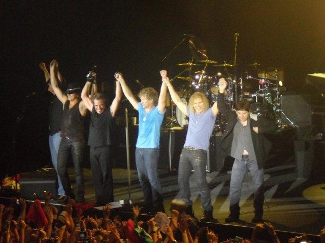Bon Jovi en concierto en Teatro Circo Price